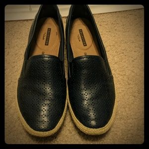 Clarks Danelly Molly Flats Navy